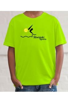 JC001J-A Kids Cool T Dziecięca koszulka sportowa